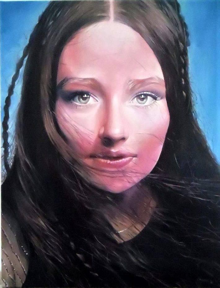 Olivia Hussey by cebira